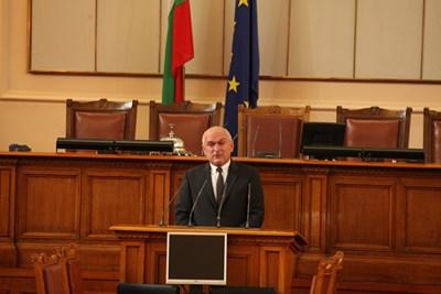 """Димитър Главчев, председател на НС, откри церемонията по награждаването на """"Лекарите, на които вярваме"""" СНИМКА: Николай Литов"""