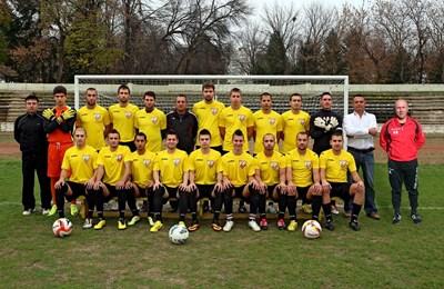 Целият футболен отбор