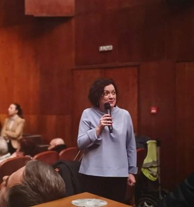 Ивелина Василева благодари за подкрепата на делегатското събрание