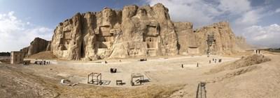 Накше Рустам - некрополът на персийските царе