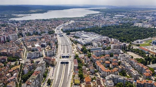 """Бул. """"Васил Левски"""" във Варна е един от мащабните проекти, реализирани от """"Хидрострой"""" АД"""