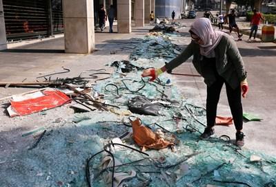 Щети след взрива в Бейрут СНИМКА: Ройтерс