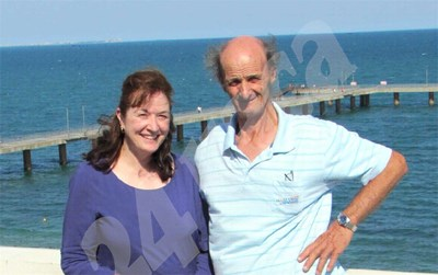 Новозеландката Таня и брат й Иван СНИМКА: 24 часа