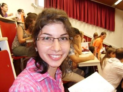 """26-годишната учителка по български език и литература Таня Петрова СНИМКА: """"24 ЧАСА"""""""