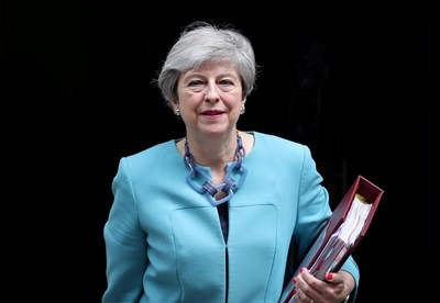 Британската премиерка Тереза Мей  Снимка:Ройтерс