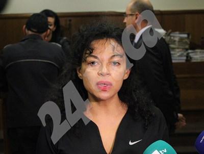 Евгения Банева остава зад решетките, реши специализираният съд. СНИМКА: 24 часа
