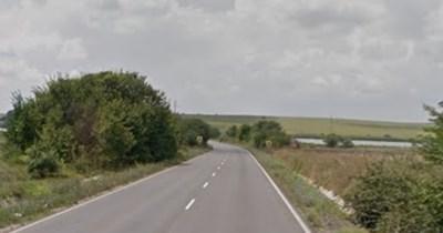 Верижната катастрофа е станала по пътя Бургас - Средец СНИМКА: Google Street View