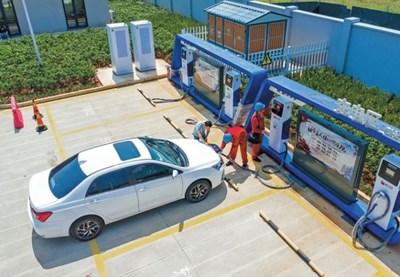 Китай създава повече удобства за зареждането на електрически коли