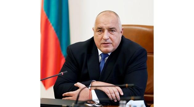 Бойко Борисов подаде оставка на кабинета без да отиде в парламента