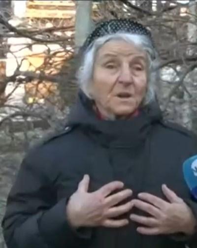 Жителка на с. Златолист Кадър: Нова тв