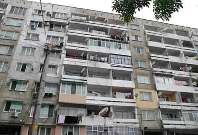"""В България в много градове има панелни блокове, строени през втората половина на миналия век Снимка Архив """"24 часа"""""""