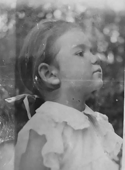 Мариана Цонева като дете