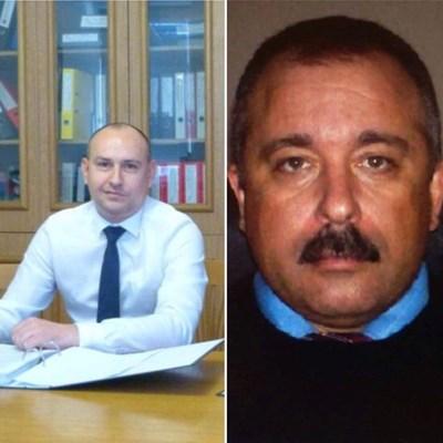 Ангел Ангелов (вляво) и Иво Костов
