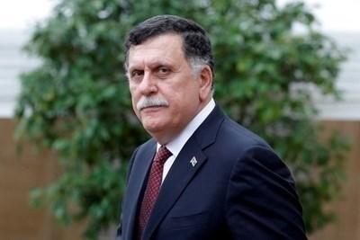 """Премиерът на базираното в Триполи """"Правителство на националното съгласие"""" (ПНС) на Либия Файез Сарадж СНИМКА: Ройтерс"""