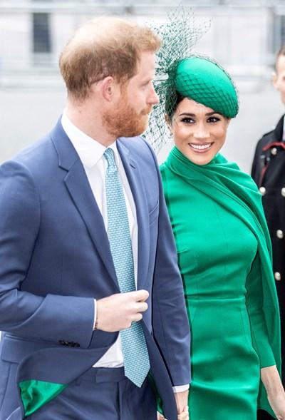 Британският принц Хари и съпругата му Меган Маркъл