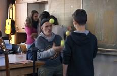 """Кадър от наградения на """"Берлинале"""" филм """"Класната стая на г-н Бахман"""""""