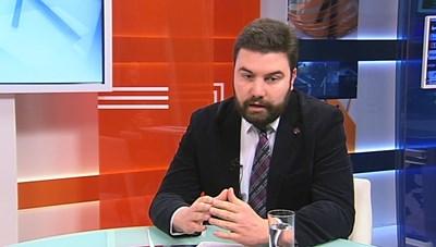 Здравният експерт Аркади Шарков  СНИМКА: ТВ Европа