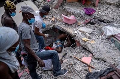 ЕС изпраща хуманитарна помощ на Хаити след земетресението