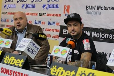 Мартин Чой (вдясно) СНИМКА: Румяна Тонeва