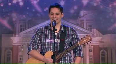"""Радо Михов на сцената на """"България търси талант""""  СНИМКА: БИ ТИ ВИ"""