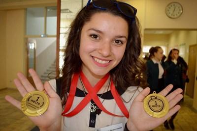Ирина спечели 4 златни медала в Москва.