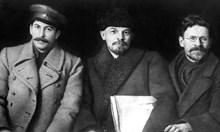 Сталин скрива писмото на Ленин, който искал да го уволни