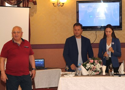 Даниел Панов и евродепутатът Ева Майдел представиха визията за нов военен музей
