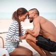 Наум Шопов и годеницата му с любовни обяснения един към друг след 8 години заедно