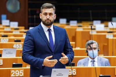 Българският евродепутат Андрей Новаков (ЕНП/ГЕРБ)