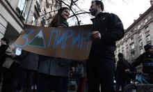 Протестиращите настояват проектът за план на Пирин да мине през екологична оценка