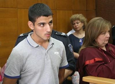 Молдовецът Евгени Недеалков призна вината си. Снимка: 24 часа