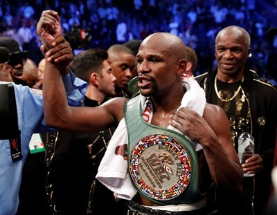Бившият световен шампион по бокс в полутежка категория Флойд Мейуедър СНИМКА: Ройтерс