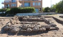 Антична гробница в имот на известен ресторантьор край Созопол