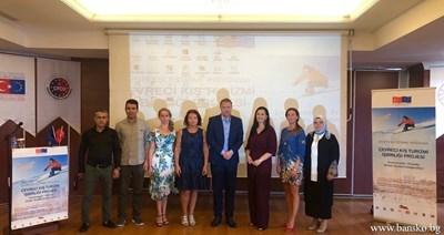 Делегацията от община Банско на гости в турската община. СНИМКИ: ОБЩИНА БАНСКО
