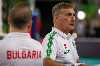Твърде вероятно е Силвано Пранди да се раздели с поста национален селекционер на България. Снимка: CEV