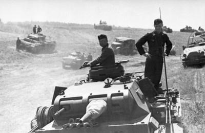 Германска танкова дивизия на съветската граница