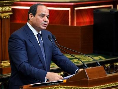 Президентът на Египет Абдел Фатах ас Сиси  СНИМКА: Ройтерс