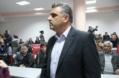 """Кметът на община """"Марица"""" Димитър Иванов ръководеше срещата СНИМКА: Евгени Цветков"""