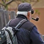 Възрастен мъж тръгна пеш към Москва за Деня на победата на 9 май