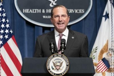 Радио Китай: Визитата на US министър на здравето в Тайван има ясна политическа цел