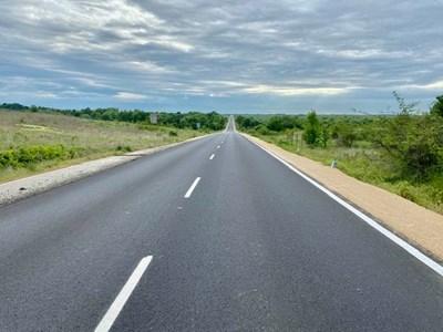 Новоремонтираният път Раковски-Брезово. Снимка: Младен Шишков