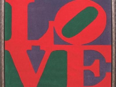 Паното LOVE на Робърт Индиана СНИМКИ: АРХИВ И ЙОРДАН СИМЕОНОВ