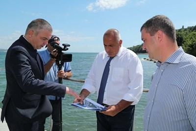 Бойко Борисов във Варна Снимка: Министерски съвет