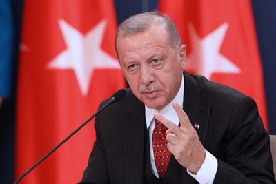 Американският президент Реджеп Тайип Ердоган СНИМКА: Ройтерс