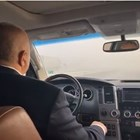 """Борисов подкара джипа по """"Хемус"""" от ранни зори (Видео)"""