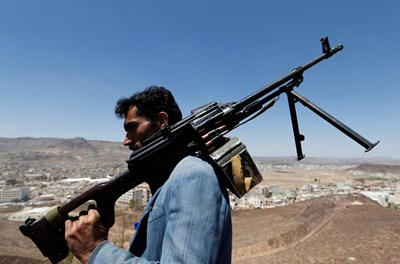Йеменски стрелец        СНИМКА: РОЙТЕРС