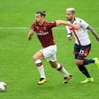 """Ибра вероятно е изиграл последния си мач за """"Милан"""""""