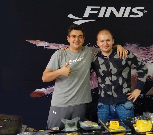 Пламен Николов на плувно състезание в Пловдив през ноември 2017 г.