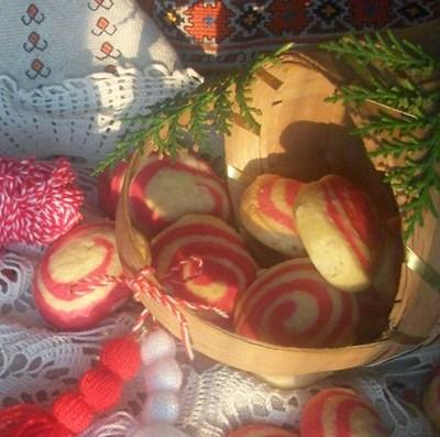 Маслени бисквитки мартенички