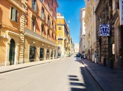 Улиците на Рим са безлюдни в дните на епидемията СНИМКА: Виолина Христова